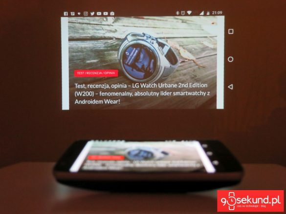 Recenzja Lenovo Moto Z Play (XT1635-02) oraz projektor Moto Insta-Share Projector - 90sekund.pl