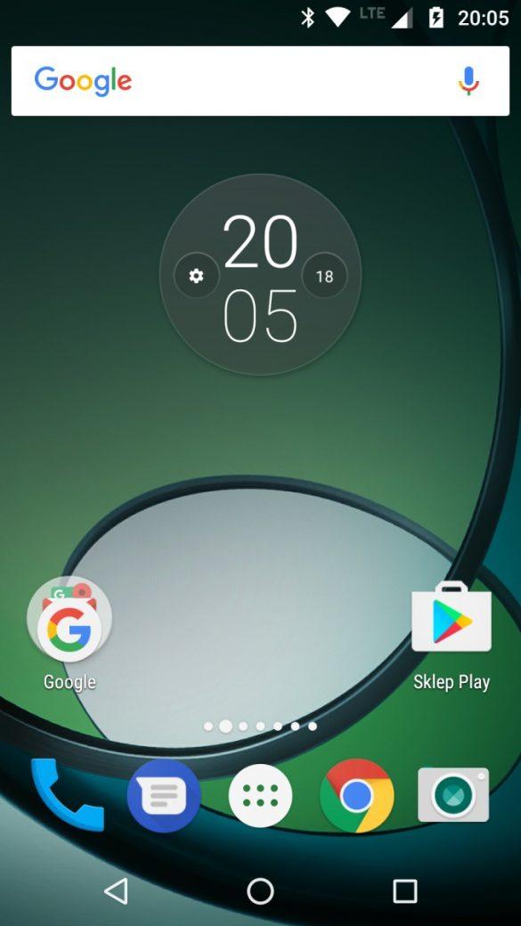 Wygląd systemu Android w Lenovo Moto Z Play - 90sekund.pl