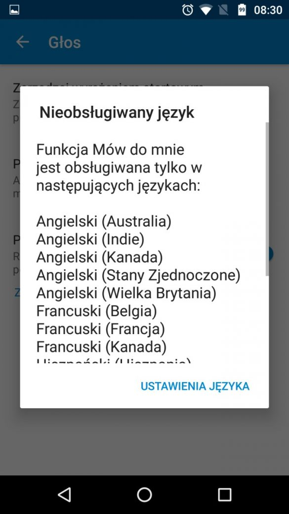 Inteligentna obsługa Moto Z Play głosem i gestami (działa po polsku, ale jeszcze w fazie testowej, aczkolwiek bardzo, bardzo dobrze) - 90sekund.pl