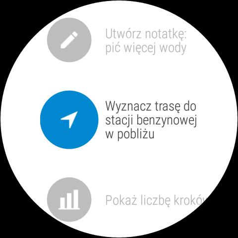 Android Wear 1.5 na LG Watch Urbane 2nd Edition - Menu poleceń i przykładów, jak je stosować - 90sekund.pl