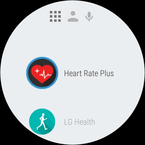 Android Wear 1.5 na LG Watch Urbane 2nd Edition - Menu aplikacji - 90sekund.pl