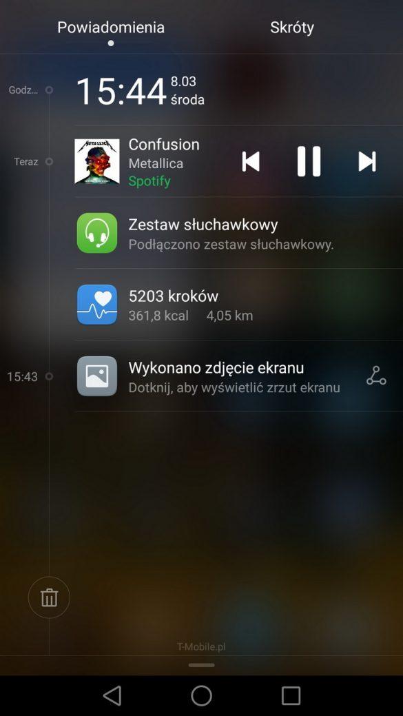 EMUI 4.1 - Honor 8 - recenzja 90sekund.pl