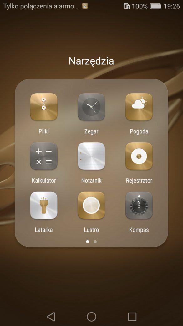 EMUI 4.1 Motywy - Honor 8 - recenzja 90sekund.pl