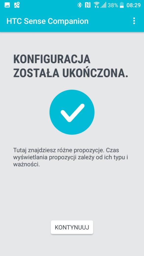HTC Sense Companion w HTC U Play - 90sekund.pl