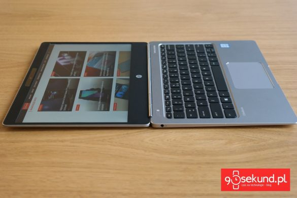 HP EliteBook Folio G1  V1C64EA - recenzja 90sekund.pl