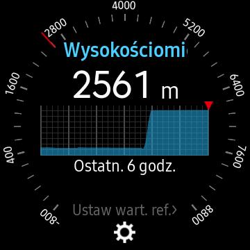 Samsung Gear S3 Frontier (SM-R760) - Barometr/Wysokościomierz - 90sekund.pl
