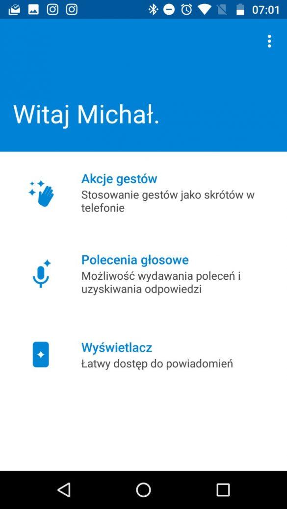 Moto Z (2016) -funkcje inteligentne - recenzja 90sekund.pl