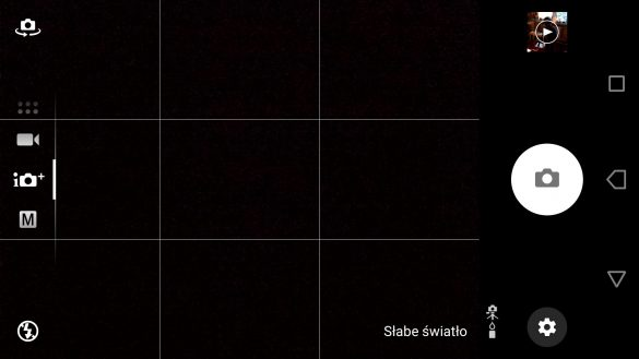 Aplikacja Aparatu w Sony Xperii XA1 Ultra - Lepsza Automatyka -  90sekund.pl