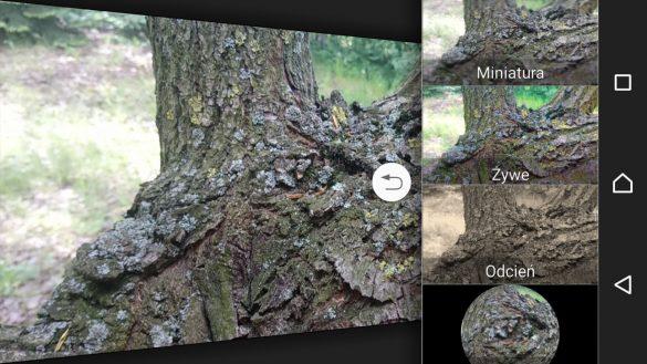 Aplikacja Aparatu w Sony Xperii XA1 Ultra - Efekt Kreatywny - 90sekund.pl