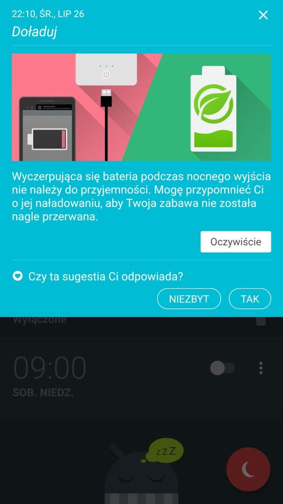 HTC U11 - asystent HTC Sense Companion - 90sekund.pl