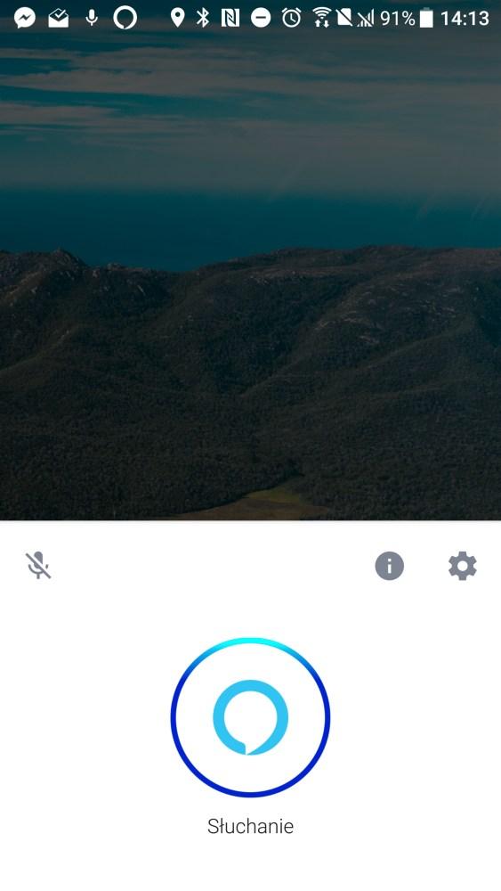 Asystentka głosowa Amazon Alexa w HTC U11 - 90sekund.pl