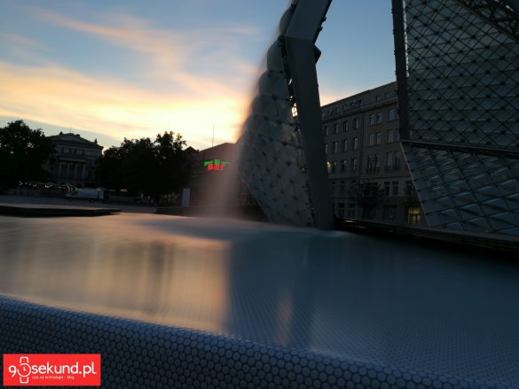 Huawei Honor 9 - Malowanie Światłem: Jedwabista Woda - 90sekund.pl