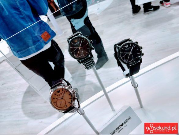 Smartwatche hybrydowe Emporio Armani - 90sekund.pl