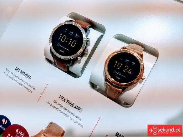 Smartwatche Fossil z Androidem Wear - 90sekund.pl