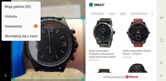 Co to jest i jak działa Bixby Vision - Samsung Galaxy Note8 - Recenzja 90sekund.pl