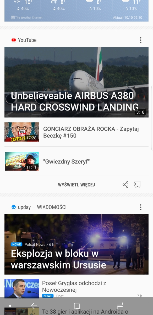 Samsung Bixby na Galaxy Note8 - recenzja 90sekund.pl