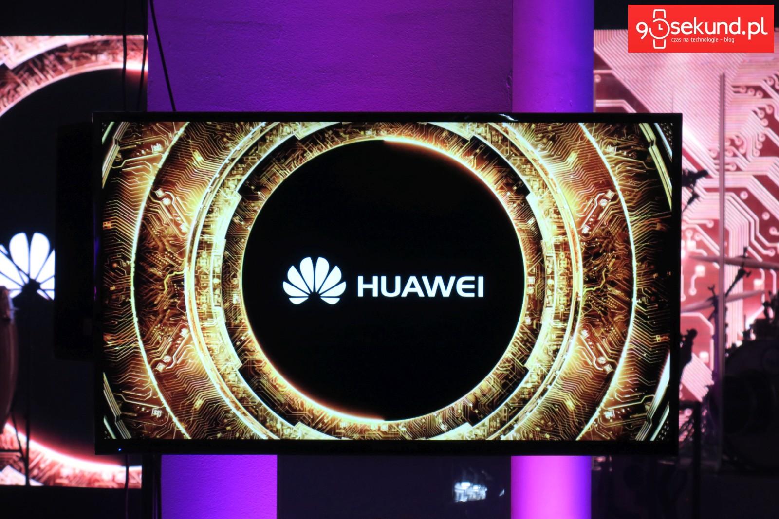 Huawei - fot. Michał Brożyński 90sekund.pl