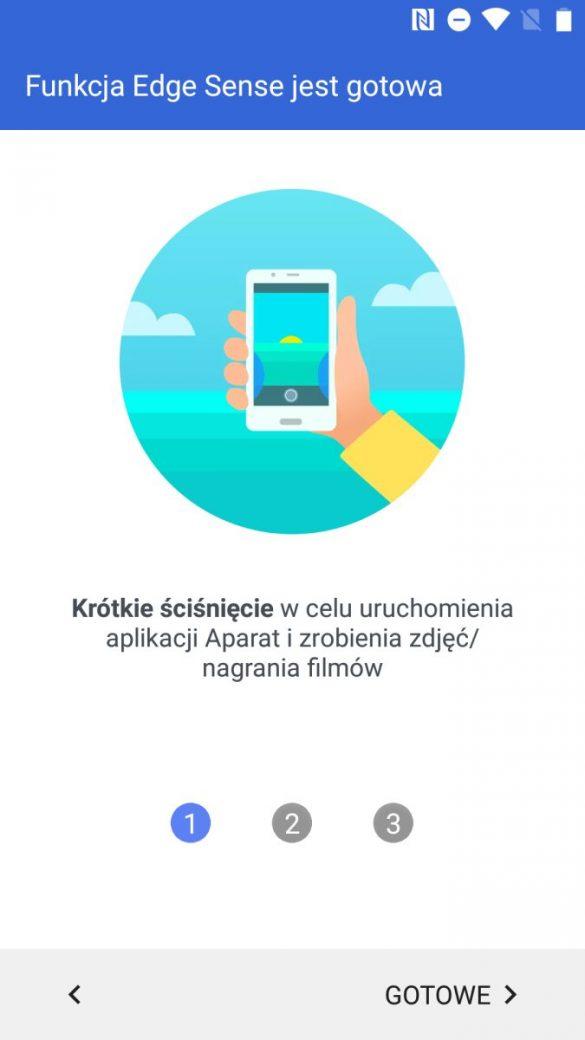 Tak działa ściskanie obudowy w HTC U11 life - recenzja 90sekund.pl