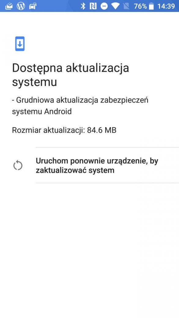Wygląd systemu Android 8.0 Oreo w HTC U11 life - recenzja 90sekund.pl