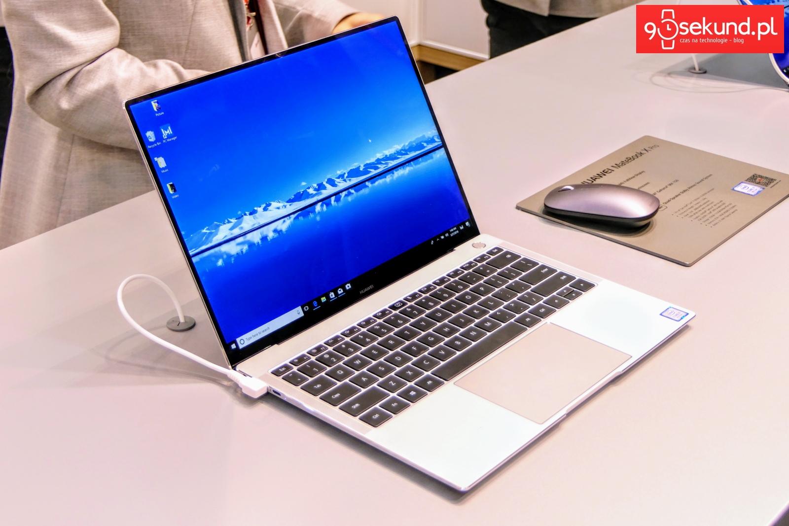 Huawei MateBook X Pro na MWC 2018 w Barcelonie - 90sekund.pl