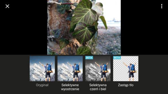 Włączanie Efektu Głębi Ostrości w Moto X4 - recenzja 90sekund.pl