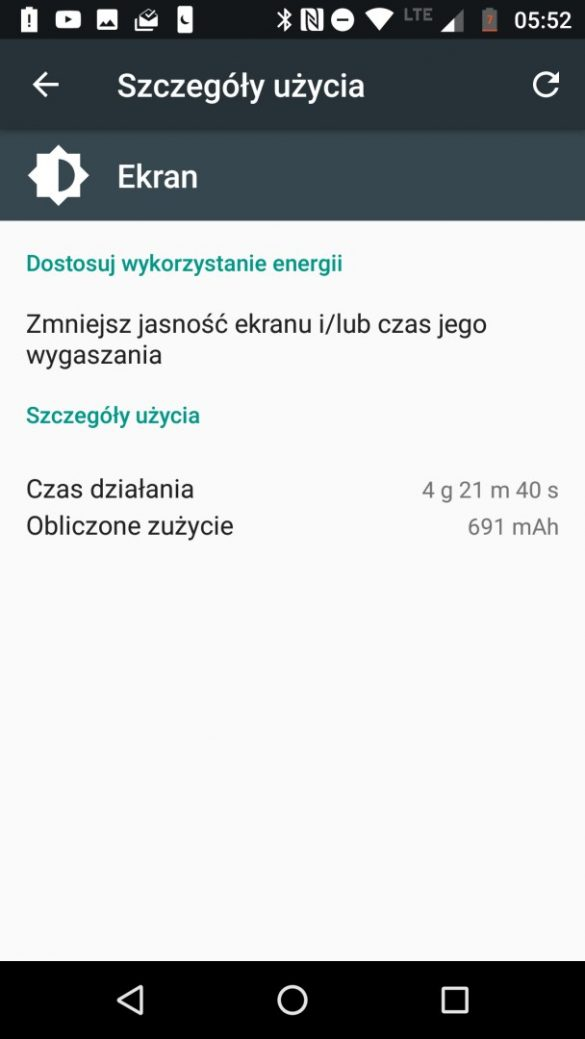 Czas pracy Moto X4 na baterii - recenzja 90sekund.pl