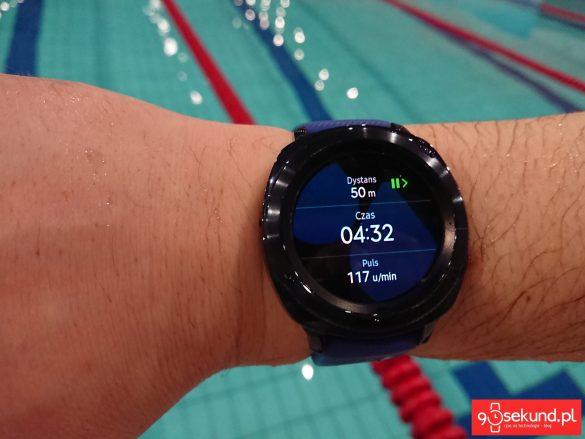 Samsung Health na Gear Sport i trening pływacki - 90sekund.pl