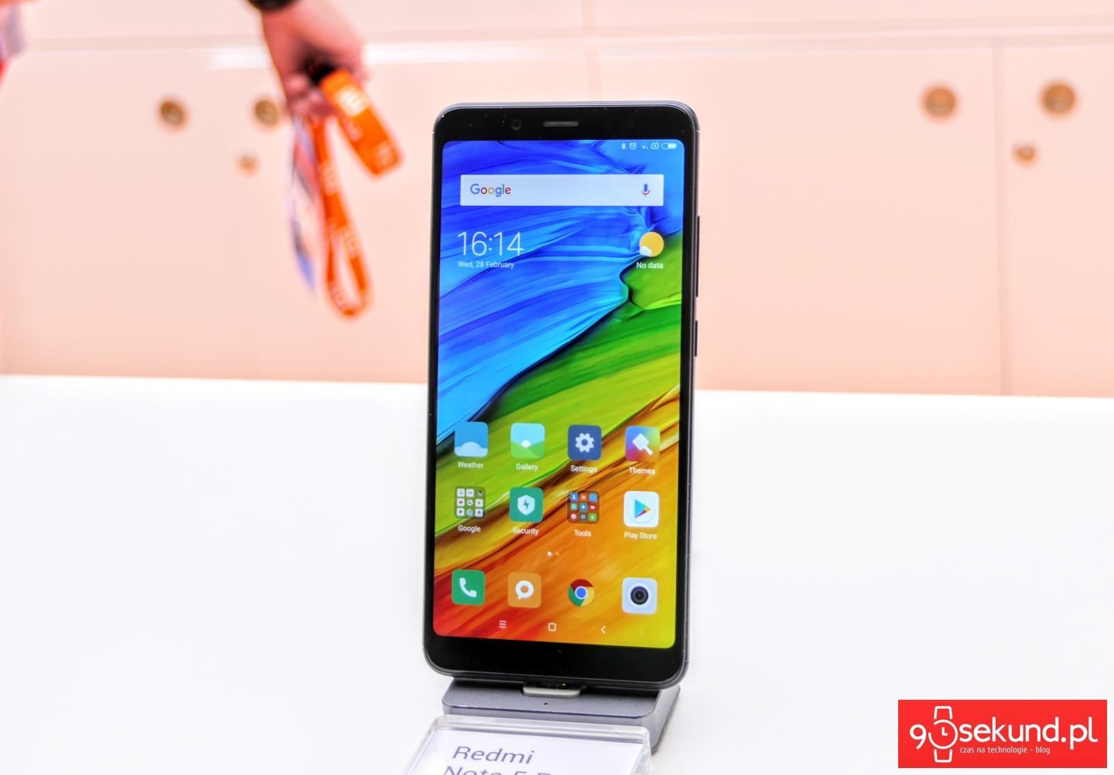 Xiaomi Redmi Note 5 Pro - 90sekund.pl