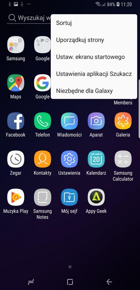 Samsung Experience 9 w Galaxy S9+ - 90sekund.pl