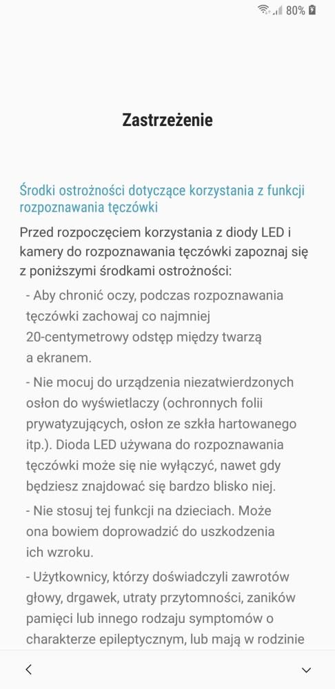 System zabezpieczania Galaxy S9+ - 90sekund.pl
