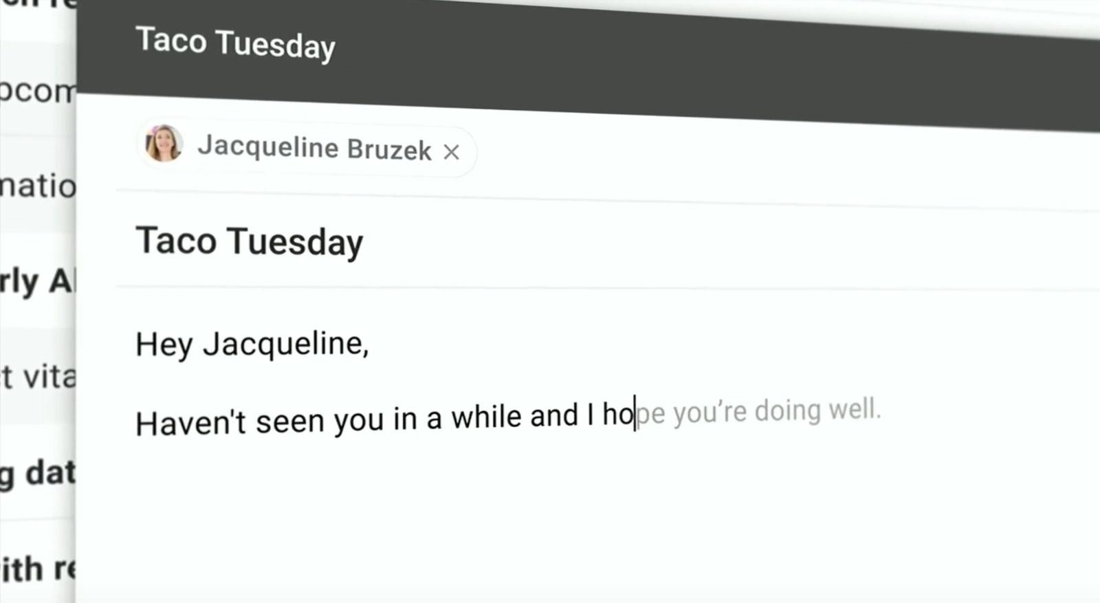 Smart Compose w Gmailu bazujące na Sztucznej Inteligencji