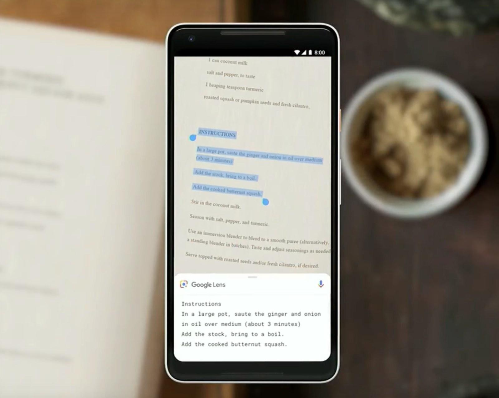 Smart Text Selection pozwoli kopiować tekst ze zdjęć!