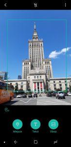 Rozpoznawanie obiektów przez Bixby w Galaxy A8 - recenzja 90sekund.pl