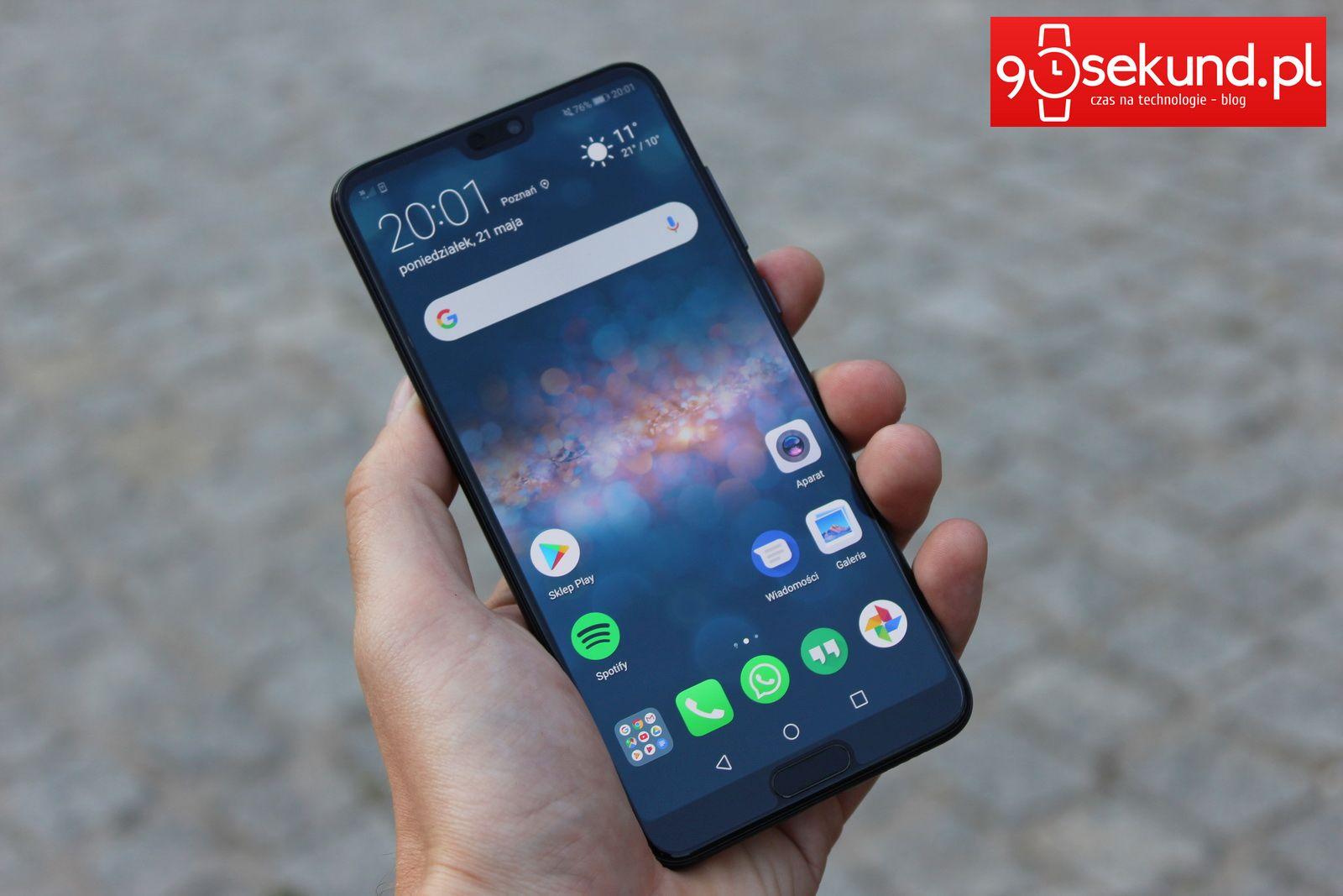 Recenzja Huawei P20 Pro - 90sekund.pl