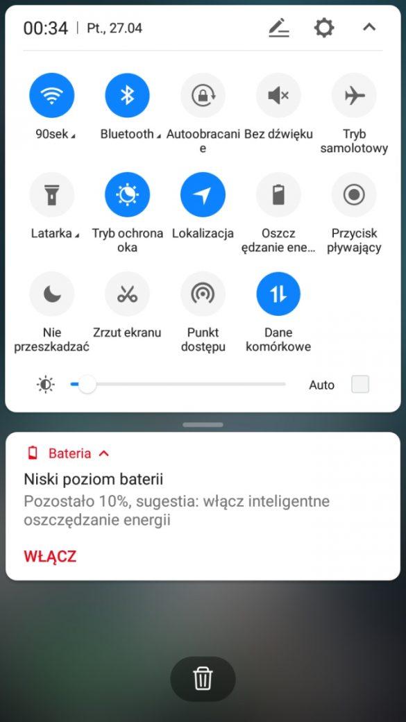 Wygląd systemu w Neffos C7 - 90sekund.pl