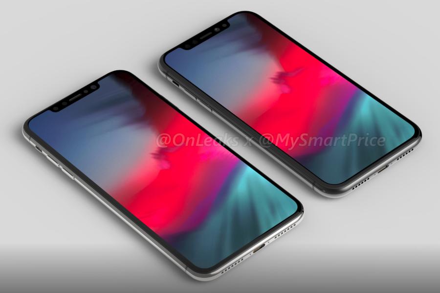 Tak ma wg przecieków wyglądać iPhone X 2018 w dwóch rozmiarach