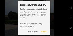 Rozpoznawanie zabytków z Moto G6 Plus - recenzja 90sekund.pl