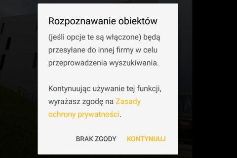 Rozpoznawanie obiektów i zabytków z Moto G6 Plus - recenzja 90sekund.pl