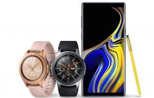 Samsung Galaxy Note9 i smartwatche Galaxy Watch