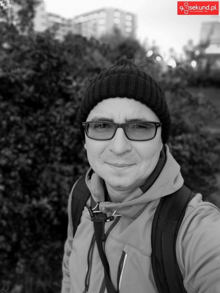 Zdjęcie monochromatyczne wykonane Huawei P20 - 90sekund.pl - Michał Brożyński