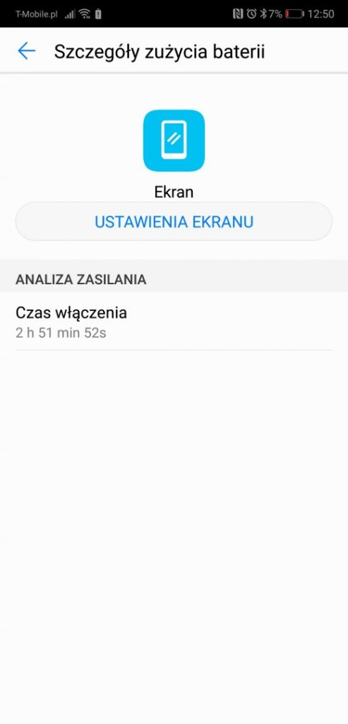 Czas działania Huawei P20 na baterii - 90sekund.pl - Michał Brożyński