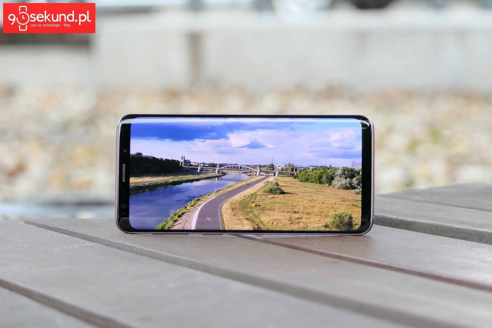 Recenzja Samsung Galaxy S9 (SM-G960F) - 90sekund.pl - Michał Brożyński
