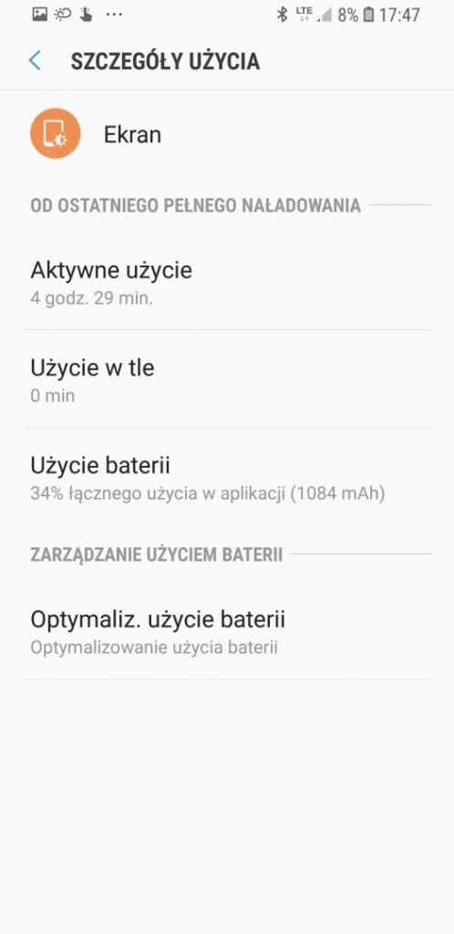 Czas działania SGS9 na baterii - 90sekund.pl - Michał Brożyński
