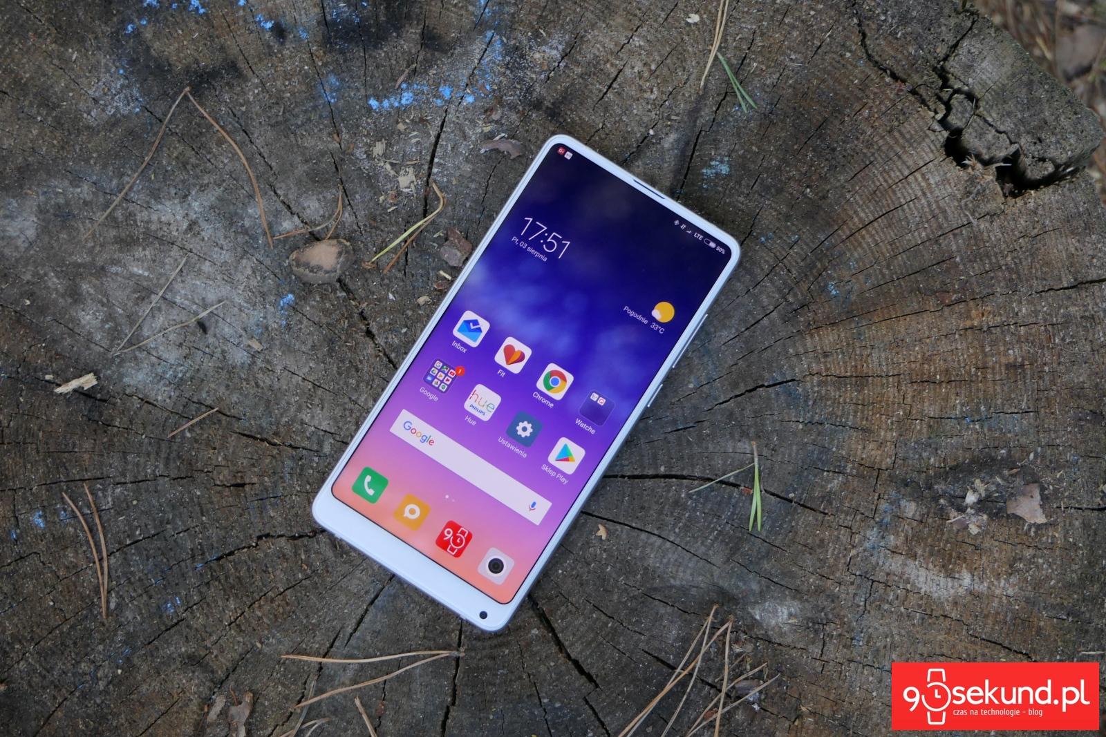 Recenzja Xiaomi Mi Mix 2s - 90sekund.pl / Michał Brożyński