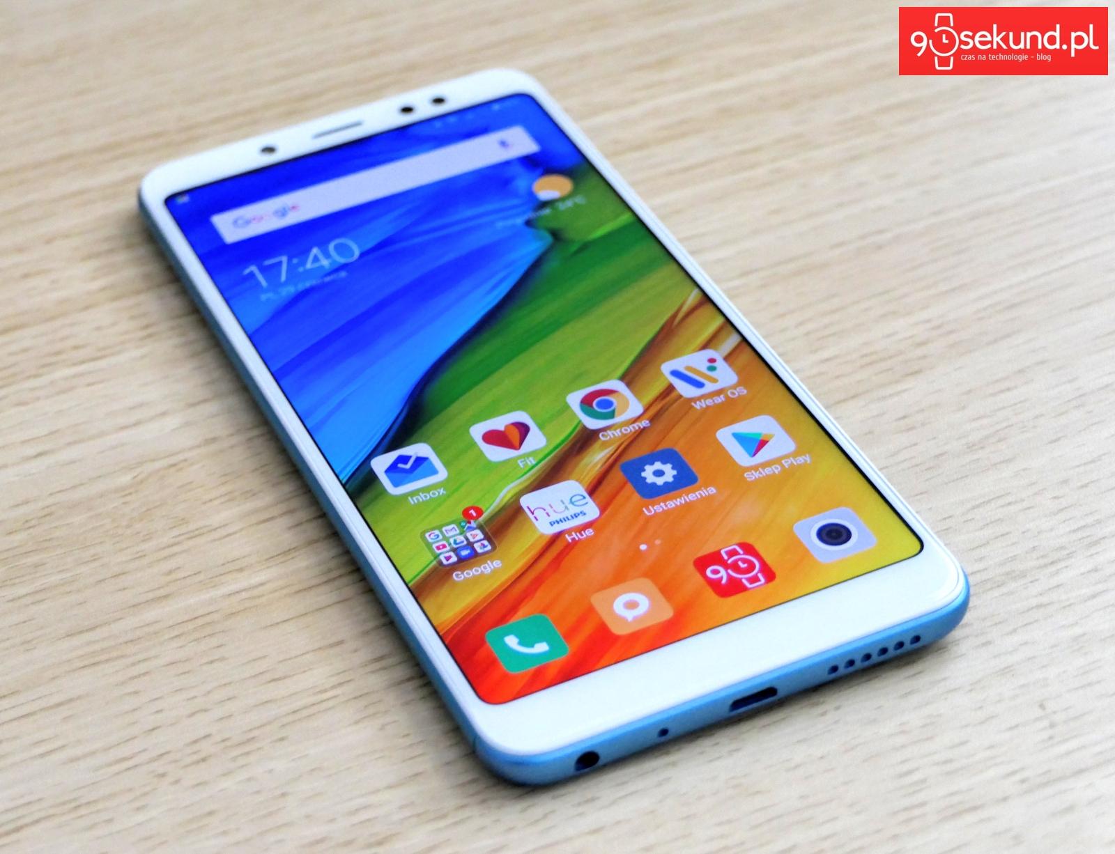 Recenzja Xiaomi Redmi Note 5 90sekund Michał Brożyński