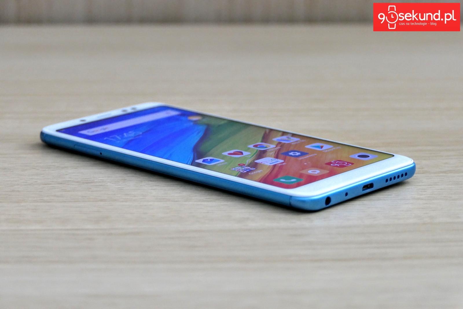 Recenzja Xiaomi Redmi Note 5 - 90sekund.pl / Michał Brożyński