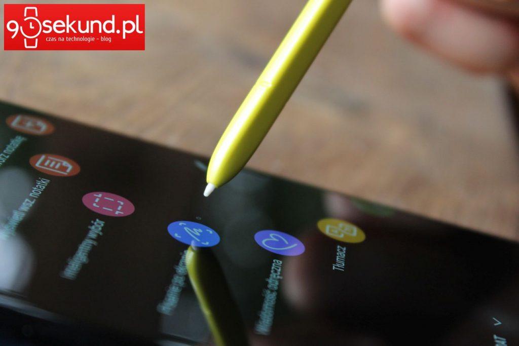 Samsung Galaxy Note9 - recenzja 90sekund.pl