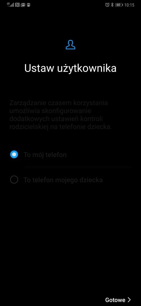 Higiena Cyfrowa w Huawei Mate 20 Pro - Michał Brożyński - 90sekund.pl