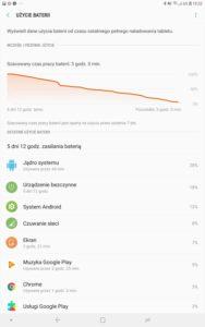Samsung Galaxy Tab S4 - Czas działania na baterii - Michał Brożyński - 90sekund.pl