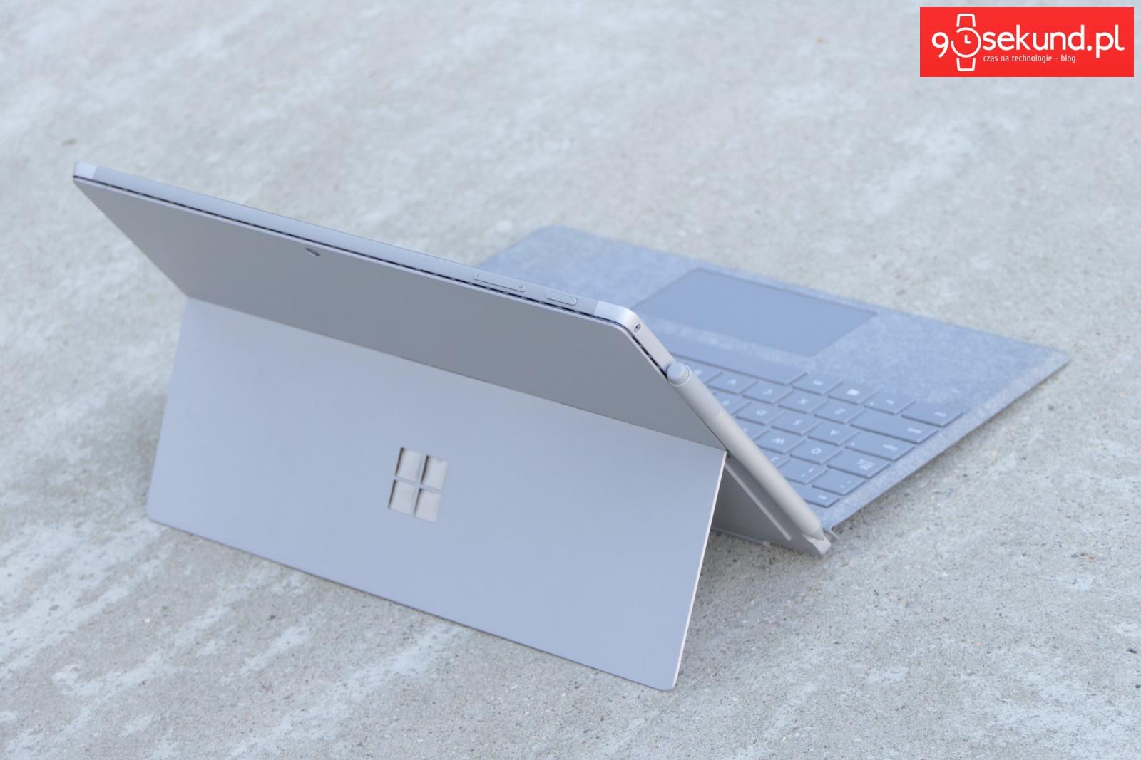 Recenzja Microsoft Surface Pro (2017) - 90sekund.pl - Michał Brożyński